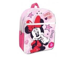 EUROSWAN Dětský batoh s kapsou Minnie pink Polyester, 30 cm