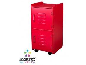 KidKraft Dětský kontejner červený 14322