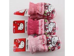 Palcové nepromokavé rukavice Hello Kitty 800-121