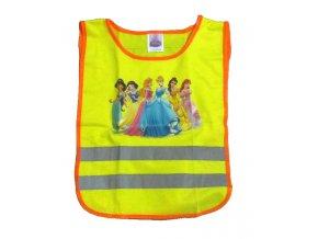 Dětská reflexní vesta Princezny