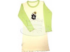 Dívčí noční košile dlouhý rukáv KRTEČEK 008 vzor H