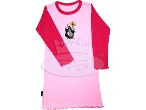 Dívčí noční košile dlouhý rukáv KRTEČEK 008 vzor E