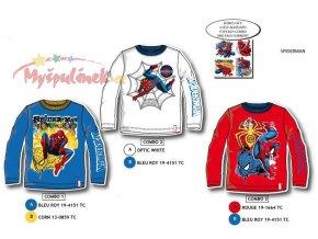 Triko Spiderman s dlouhým rukávem 1003