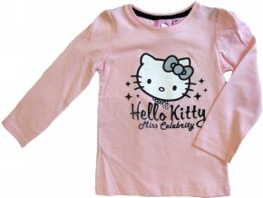 Triko Hello Kitty dlouhý rukáv 1756 růžové