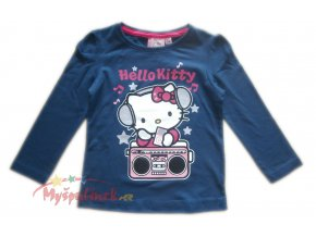 Triko Hello Kitty modré 1236