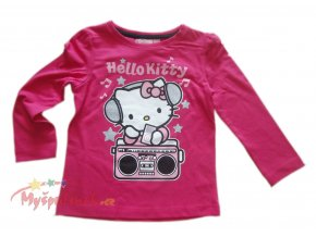 Triko Hello Kitty růžové 1236