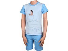 Pyžamo Krteček 012 krátké světle modrá N