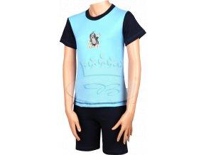 Pyžamo Krteček 012 krátké tmavě modrá N