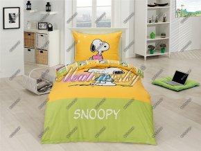Povlečení Matějovský Snoopy Heart