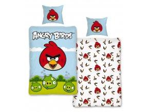 Ložní povlečení Angry Birds Luke 140/200 SKLADEM