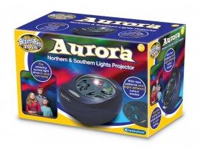 Projektor polární záře