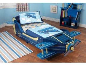 Dětská postel LETADLO 201x115