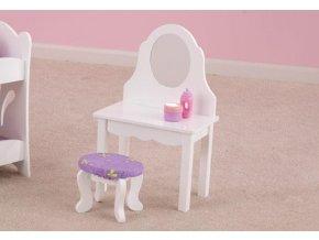KidKraft Toaletní stolek pro panenky LIL' DOLL VANITY