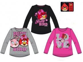 Triko Angry Birds dívčí dlouhý rukáv 1436