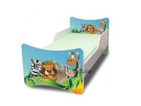 Dětská postel ZOO Madagaskar