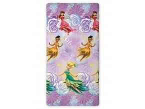 Prostěradlo Fairies Beauty 90/200