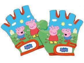 Cyklorukavice Peppa Pig - skladem