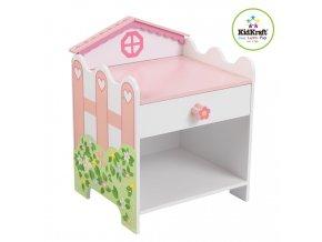 KidKraft Dětský noční stolek DOMEČEK PRO PANENKY