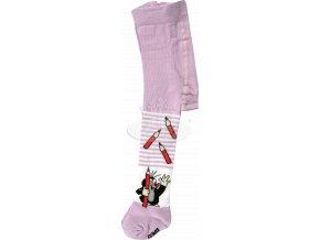 Dětské punčocháče KR 222 Krtek - vzor 2 fialová