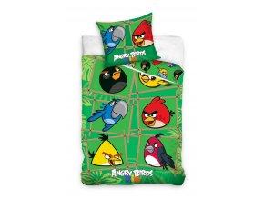 Povlečení Angry Birds Rio Bamboo 140/200