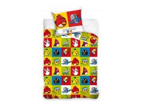 Povlečení Angry Birds Rio čtverce 140/200