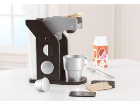 KidKraft Uptown Espresso Coffee set 63379