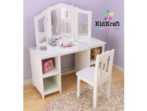 KidKraft Toaletní stolek s židlí1