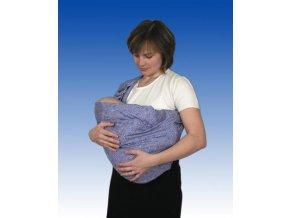 Babyvak od Pechů - modré kopretinky