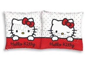 Povlak na polštářek Hello Kitty bílá 40/40