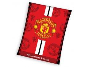 Mikropolar fleece deka Manchester United 130/170