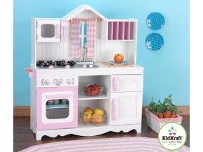 Kidkraft Dětská dřevěná kuchyňka MODERN COUNTRY