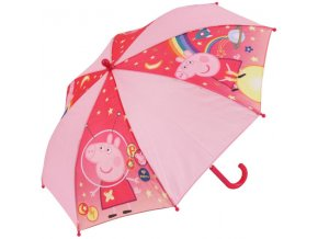 Vystřelovací deštník Peppa Pig Pink
