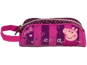 Kosmetická taška Peppa Pig Fuchsiová