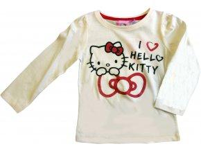Triko Hello Kitty dlouhý rukáv 1756 krémové