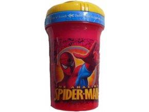 Láhev Spiderman 450 ml s brčkem