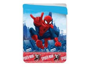 Prošívaná deka Spiderman 180/260 cm