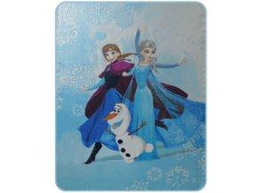 Fleece deka Ledové Království Enjoy 110/140
