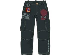 Kalhoty Spiderman antracit vel. 98