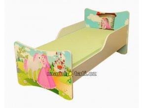 Dětská postel se zábranou Princezna