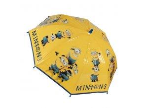 Dětský deštník Mimoni žlutá