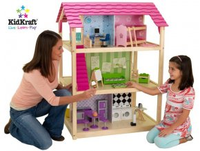 Kidkraft Dřevěný domeček pro panenky Barbie CHIC