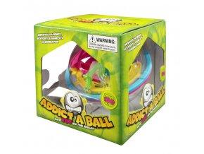 3D Hlavolam addict a ball