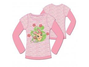 Dívčí triko Littlest Pet Shop s dlouhým rukávem 952-014