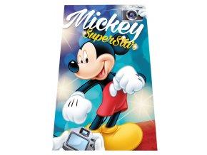 Fleece deka Mickey SuperStar 100/150