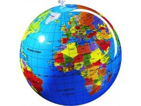 nafukovací globus