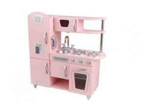 Kidkraft Dětská dřevěná kuchyňka Pink Vintage 53179