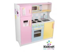 KidKraft Velká kuchyňka PASTEL 53181