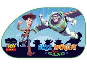 Sluneční clona Toy Story boční šikmá 2 ks