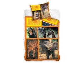 Povlečení Animal Planet Safari 140/200, 70/80