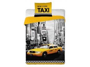 Povlečení New York Taxi 140/200 SKLADEM
